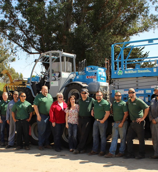 Cal-West Rentals Team at Petaluma