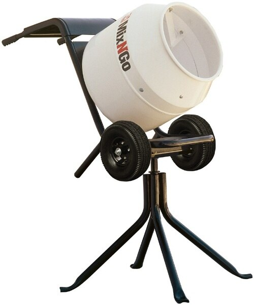Concrete Mixer, Electric, 2.5 Cubic Ft