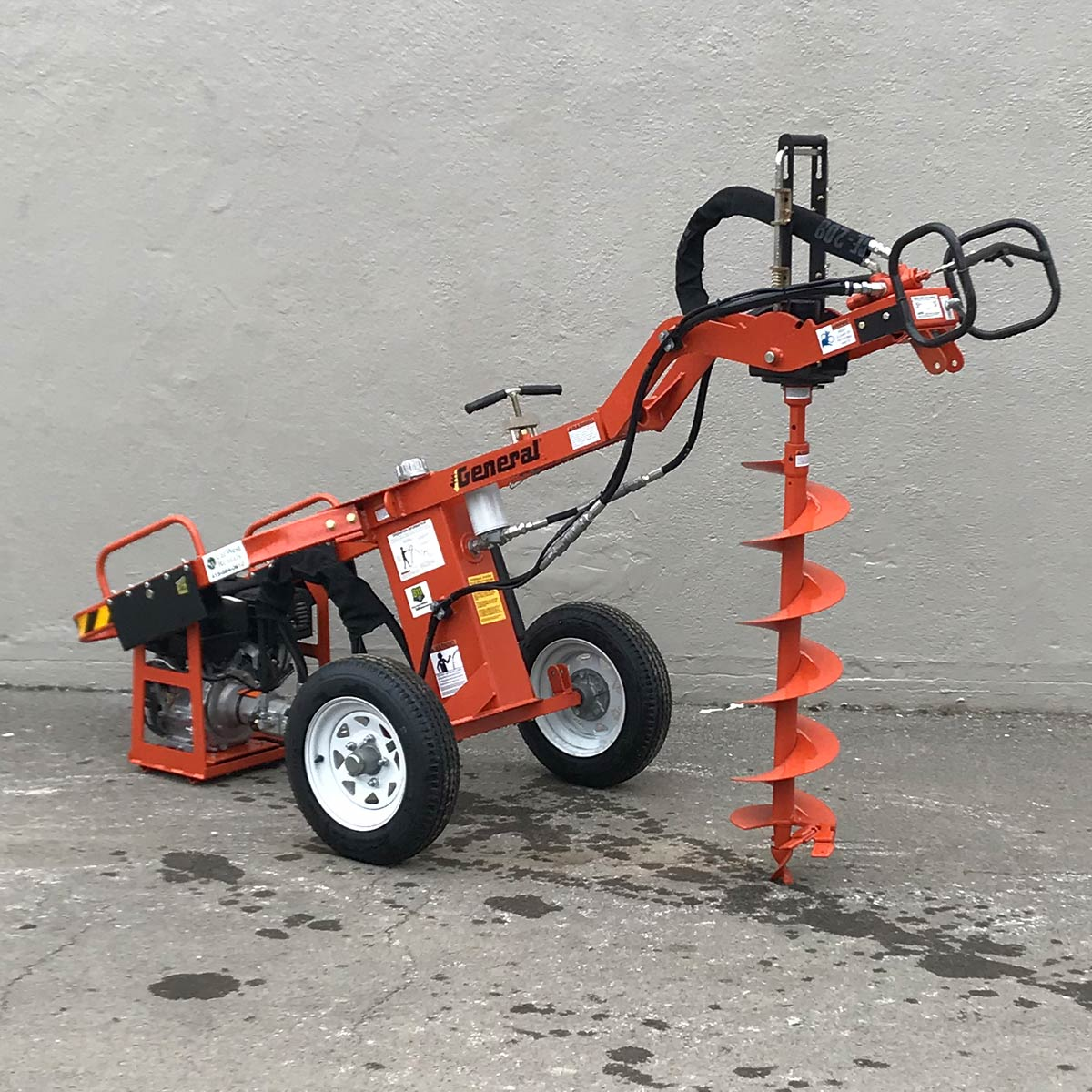 Towable Hydraulic Auger | Cal-West Rentals