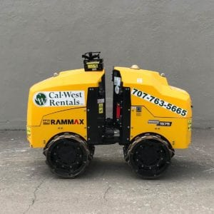 Trench Roller With Remote