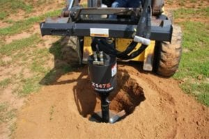 Skid Steer Auger Attachment Rental 2