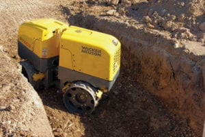 Trench Roller, 24 inch with Remote Rental 2