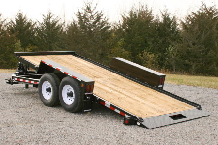 16 Foot Long Flatbed Trailer