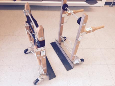 2 Piece Piano Dolly with Straps