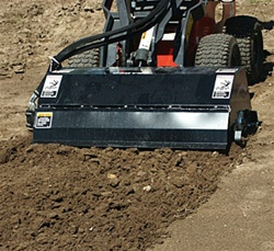 48 INCH Mini Skid Steer Tiller