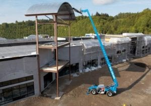 56 FEET Genie 1056 High Reach Forklift - 1