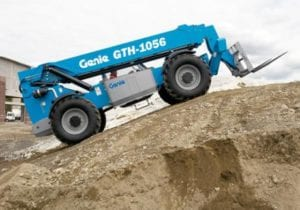 56 FEET Genie 1056 High Reach Forklift - 2