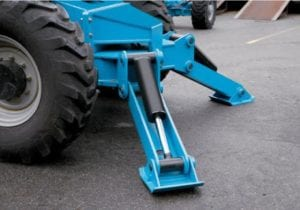 56 FEET Genie 1056 High Reach Forklift - 4