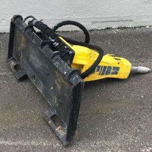 Bobcat Skidsteer Hydro Hammer SBU220 (1)