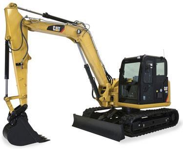 Cat 308E Excavator Rental