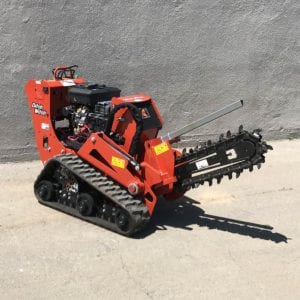 Ditch Witch Trencher Walkbehind C16X (2)