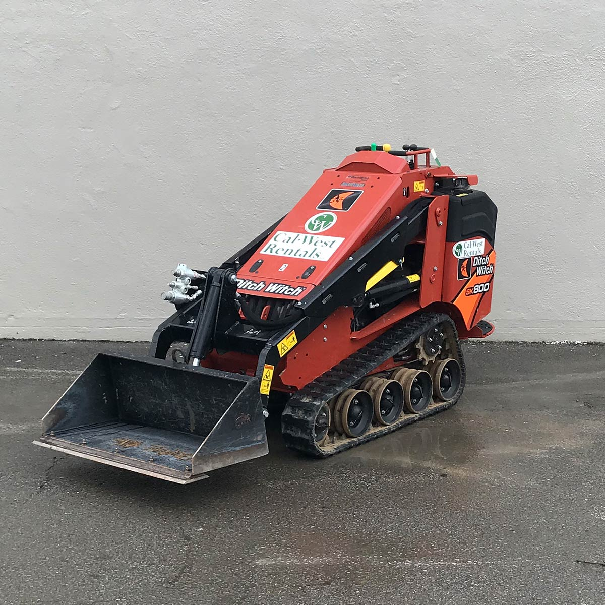 DitchWitch Mini Skid Steer SK800 (8)