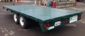 Flatbed Trailer, 8 ft. X 18 ft - 2