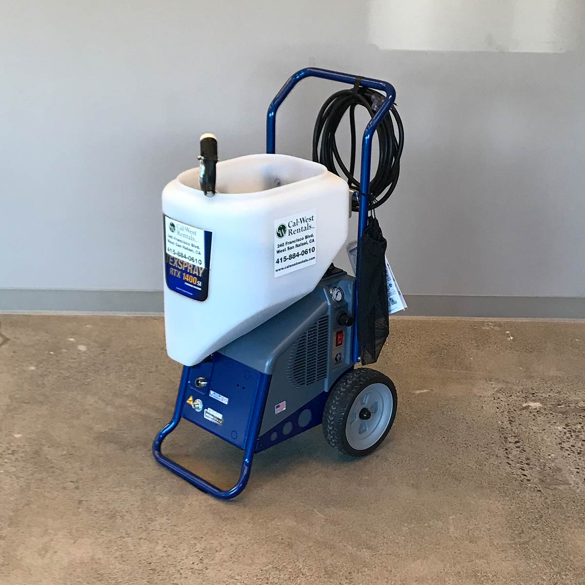 Acoustic Texture Sprayer Cal West Rentals