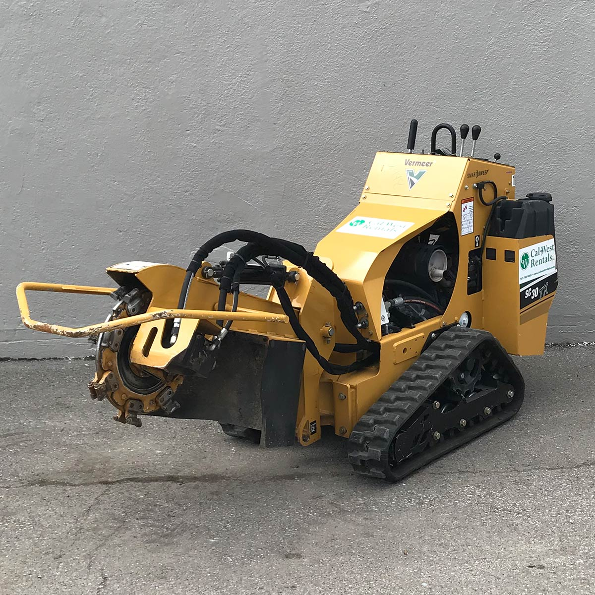 Hawk Hyd Stump Grinder 13HP SG13 (4)