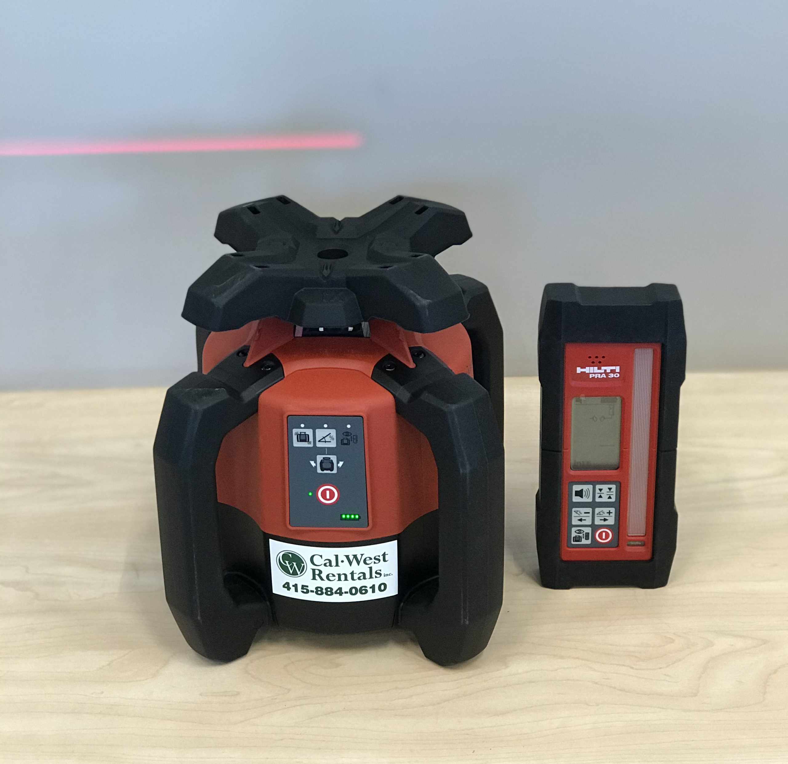 Rotary Laser Level Cal West Rentals