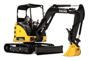 JD 35G Excavator Rental