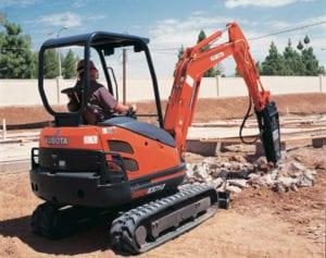 Kubota Excavator - KX71 - 2