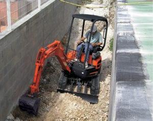 Kubota Excavator- U17 - 3