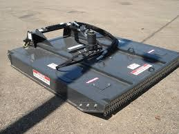 Mower for Tracked Skid Steer
