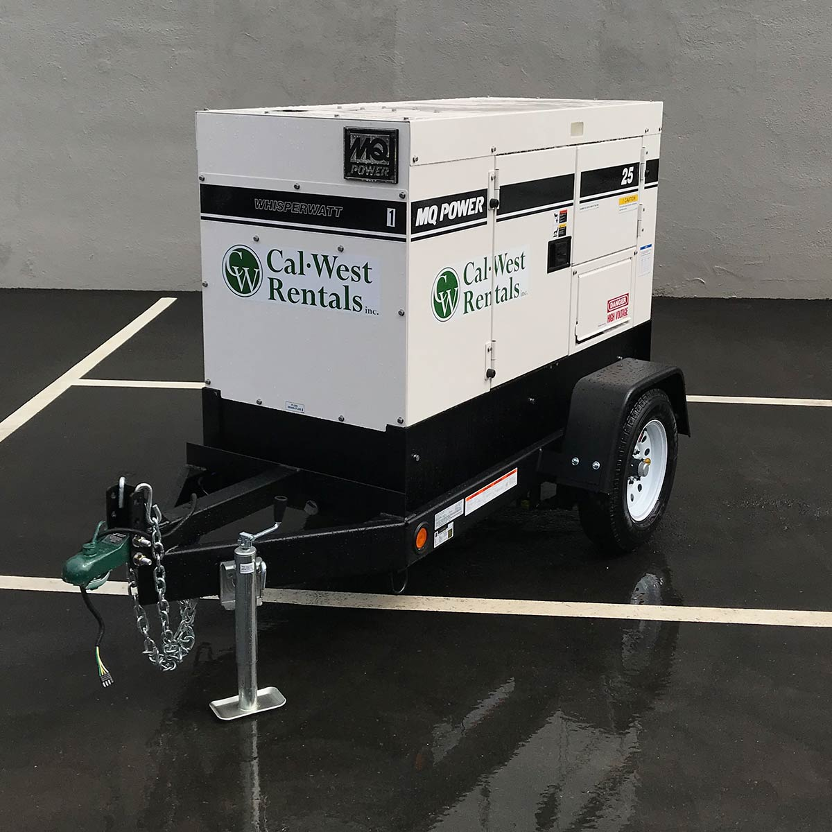Multiquip 25KVA Towable Generator DCA25SSIU4F (5)