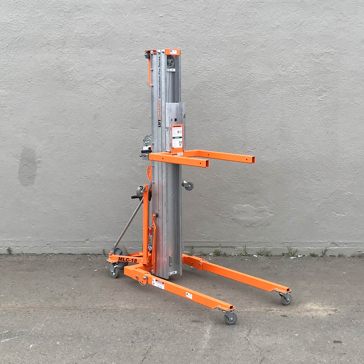 Smartlift Material Lift, 18 Ft MLC18STD (5)
