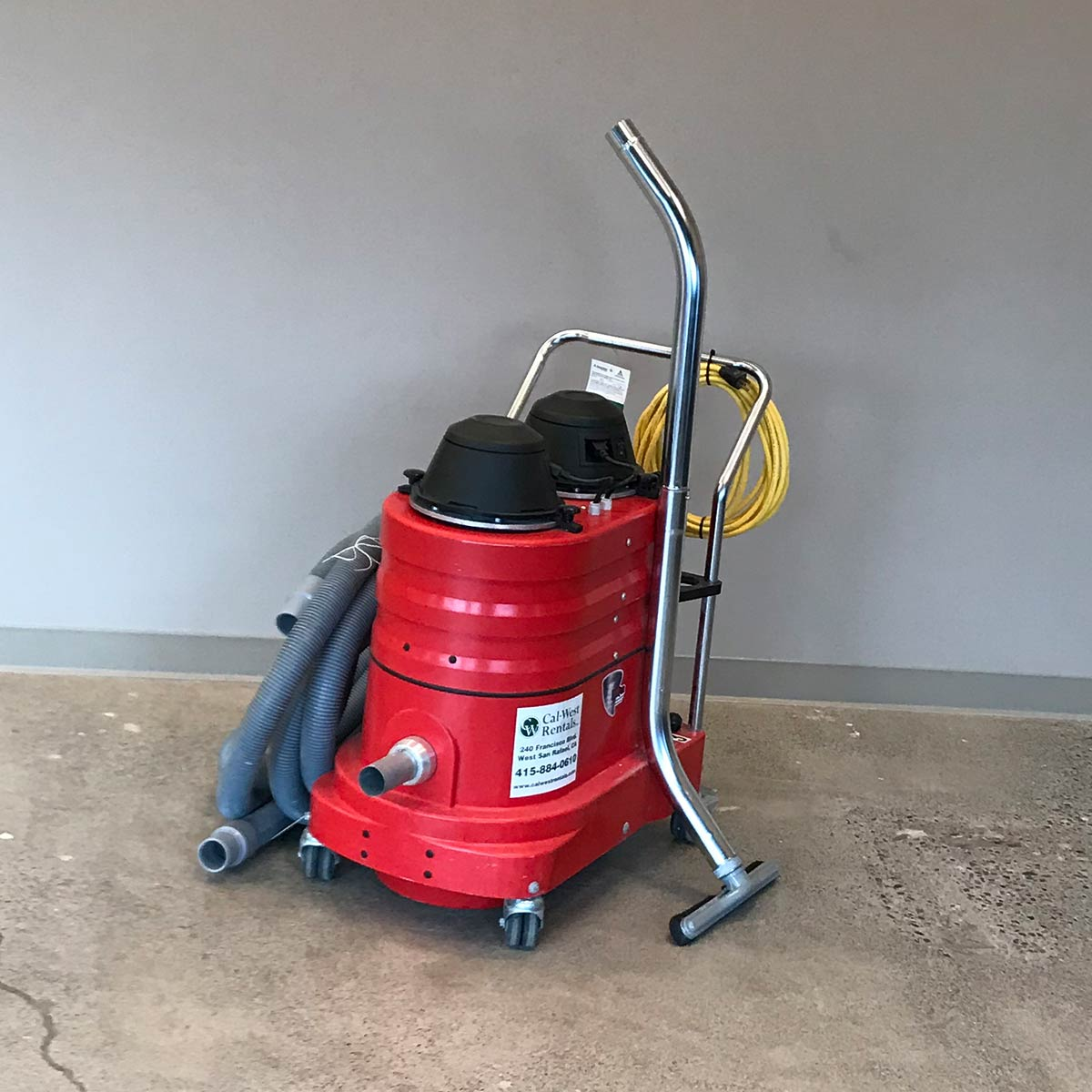 Vacuum, dust collection 200 cfm