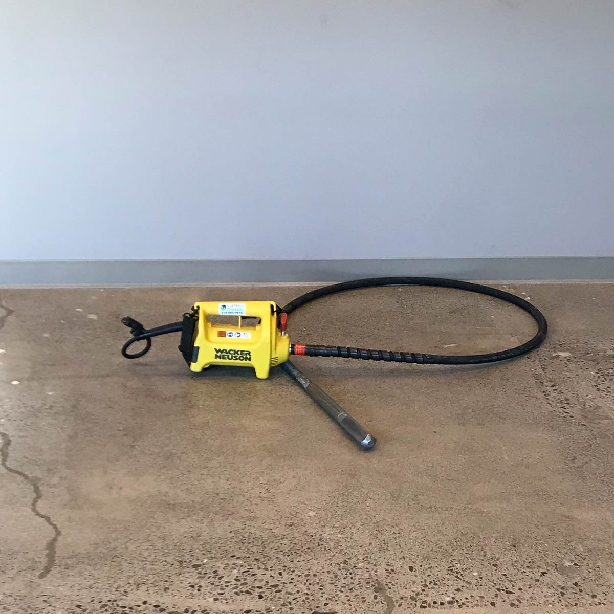 Wacker Concrete Vibrator 11ft