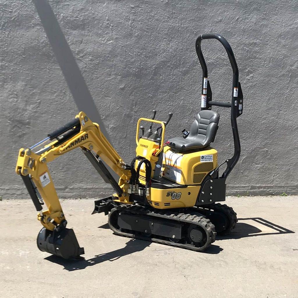 Yanmar Excavator 1.5 Ton SV08-1B