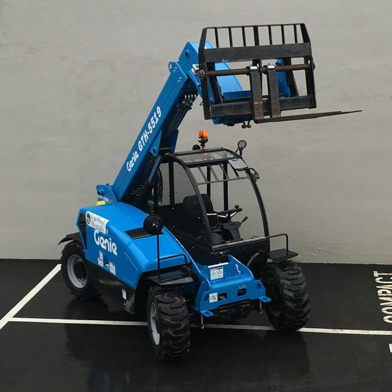 Genie Compact Reach Forklift Height Load