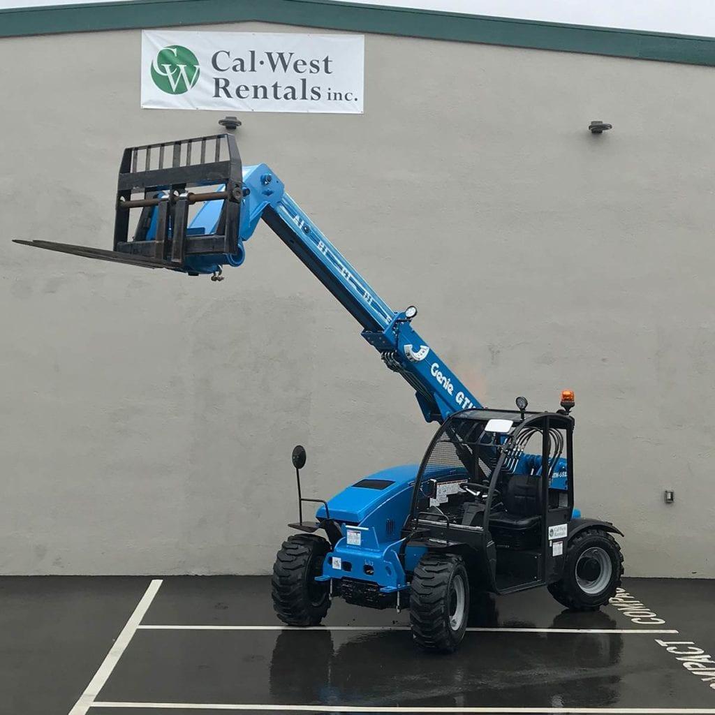 Genie Compact Reach Forklift Rental