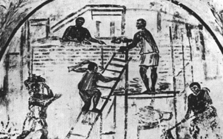 Ancient Scaffolding in History
