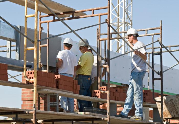 Brick Laying Scaffolding Rental