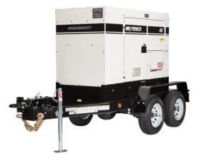 Multiquip 45 KVA Generator Rental