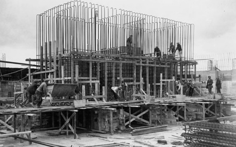The Rental History of Scaffolding