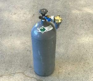 Genie Super Hoist Gas Tank